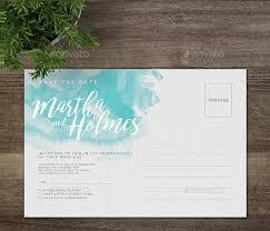 28 Wedding Postcard Invitation Templates Free Premium Download