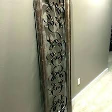 rustic wrought iron wall decor post rustic wrought iron wall decor for