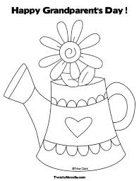 Grandparents Day Coloring Sheet Grandparents Day Coloring Pages