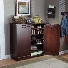 shoe storage furniture for entryway. 6 shelf wooden shoe storage cupboard organizer dresser entryway foyer cabinet furniture for