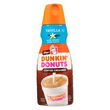 Dunkin Donuts Allergen Chart Dunkin Donuts Vanilla Bean Coolatta Nutrition Facts