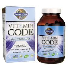 garden of life vitamin code men. Garden Of LifeVitamin Code 50 \u0026 Wiser Men Life Vitamin T