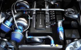 Incredible Toyota Supra engine bay [1280 x 800] : carporn