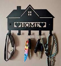 Decorative Key Holder Hook Metal Hanging Wall Mount Hanger Home with regard  to dimensions 949 X