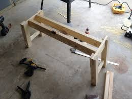 Farm Table Plans Ana White Benchwright Farmhouse Table And Bench Diy Projects
