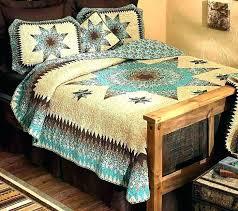 western bedding sets king size set k