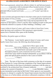 Sample Lease Agreement For Office Space Purchase Group Commercial ...