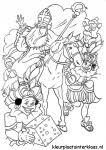 Kleurplaten Zwarte Piet Kleurplaat Sinterklaas