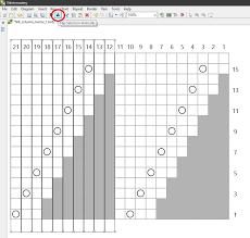 Stitchmastery Knitting Chart Editor Irregular Charts