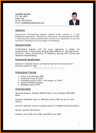 8 Best Biodata Format For Job Cashier Resumes