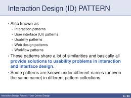 Pattern Of Interaction Adorable Interaction Design Patterns