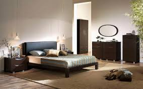 Small Bedroom Color Blue Color Covered Bedding Sheets White Brown Orange Colors White