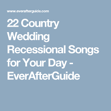 22 wedding recessional country songs for your big day wedding Wedding Recessional Songs Johnny Cash 22 country wedding recessional songs for your day everafterguide Traditional Wedding Recessional