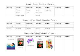 Childrens Routines Planning With Kids