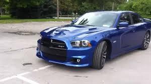 2012 Charger SRT8 392 6.4L blue streak pearl - YouTube