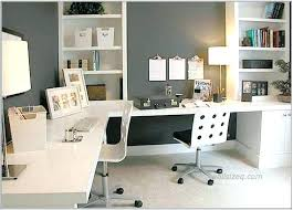 white desk home office. Two Person Desk Home Office Long White Large Size Of With T