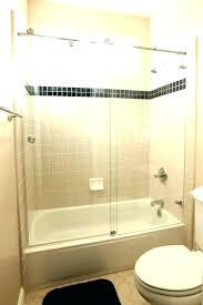 glass tub enclosures frameless medium size of sliding shower doors