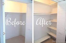 diy custom closet shelving tutorial