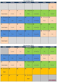 Calendar 2013 Through 2015 Latest Thoughts Regarding The Potential 2014 Itineraries
