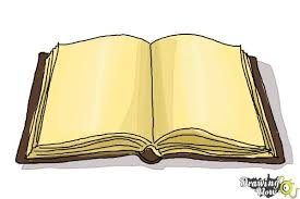 how to draw an open book step 7