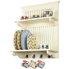 aston kitchen plate rack in ermilk