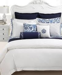 Amazon.com: Lauren by Ralph Lauren Palm Harbor Blue Stripe Pillowcases;  STANDARD: