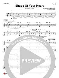 Shape Of Your Heart Rhythm Acoustic Guitar Chart Hillsong