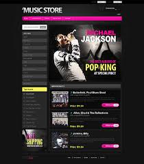 Music Website Templates Custom Music Website Design Templates Page 28 Website Templates