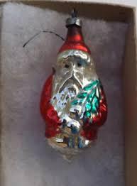 Details Zu Uralter Antiker Christbaumschmuck Weihnachtsmann Aus Glas Lauschaer Glaskunst