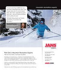 Jans Sport Park City Park City Style Magazine Winter 2018 2019