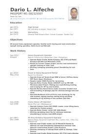 ... Cool Design Heavy Equipment Operator Resume 11 Equipment Operator Resume  Samples ...