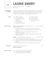 Resume Layouts Free View 30 Samples Of Resumes By Industry Experience Level