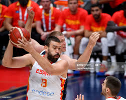 Marc Gasol of Spain and Jason Plumlee ...