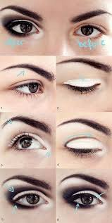makeup look diffe applicationeyeliner flickapplying can t i mean 25 best ideas about bigger eyes makeup on bigger eyes brown