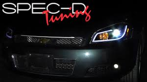 SPECDTUNING INSTALLATION VIDEO: 2006 - 2013 CHEVY IMPALA PROJECTOR ...