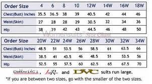 Donna Vinci Size Chart Measurement Guides Natalies Virtuous Designs Natalies