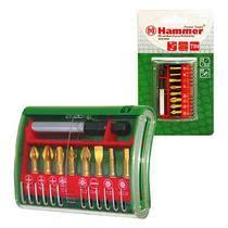 <b>Набор бит HAMMER</b> 25мм (PB набор No4 9шт. Ph/Pz/Sl/Hx ...
