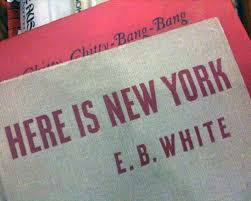 "the riddle of e b white s here is new york and architecture a  "" this book from the university database or the web it and write an essay that has something to do architecture"