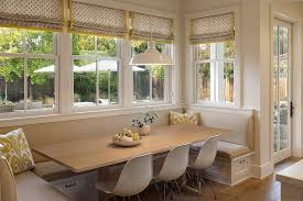 banquette furniture with storage. Farmhouse Style Banquette Dining Space Next To The Windows [From: Modern Organic Interiors / Furniture With Storage E