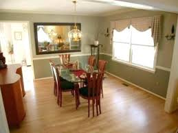 dining room colors with chair rail dining room color ideas with chair rail two tone dining