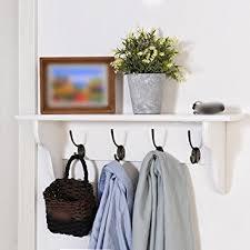 Door Hanging Coat Rack Custom Amazon Solid Wooden Coat Rack Wall Door Hanging Hanger