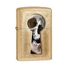Заказать <b>Зажигалка ZIPPO Keyhole</b> Skull, латунь с покрытием ...