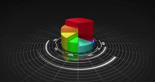 3d Chart Animation Colourful 3d Pie Chart On Stock Footage Video 100 Royalty Free 5381573 Shutterstock