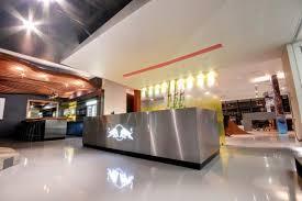 Tech companies and their creative reception area designs.