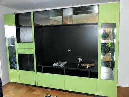 custom wall units custom wall unit in green glass space blog custom wall units miami custom wall units