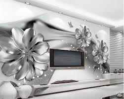 Aangepaste Behang Grote Foto Muurschildering Behang Zwart Wit