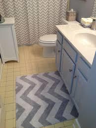 popular of yellow and gray bathroom rug grey and yellow chevron bathroom