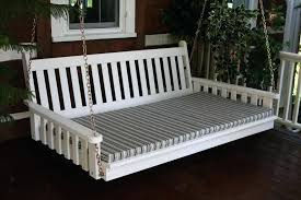 porch bed swing porch bed swing hanging kit twin bed size porch swing plans