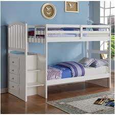 white bunk bed with stairs. White Bunk Bed With Stairs