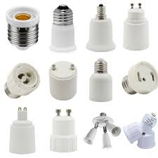 G9 To E12 Candelabra Screw Light Bulb Adaptor Lamp Socket Converter